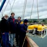 ROV TIGER Emisario Pto. Montt - 130 mts profundidad