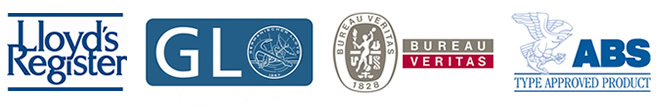 American Bureau of Shipping, Lloyd´s Register, Germanischer Lloyd, Bureau Veritas